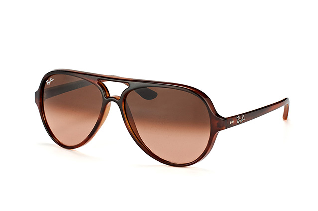 Ray-Ban Cats 5000 RB 4125 820/A5 vista en perspectiva