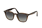 Ray-Ban RB 4258 6166/13 Havana / Gradient grey perspective view thumbnail