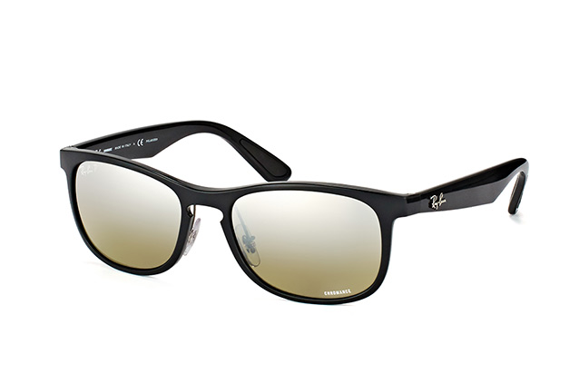 RAY BAN RAY-BAN Herren Sonnenbrille » RB4263«, schwarz, 601/5J - schwarz/silber