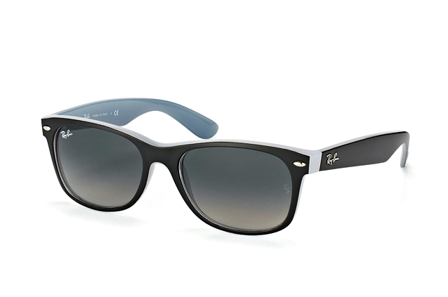 Ray-Ban New Wayfarer RB 2132 6309/71 L vista en perspectiva
