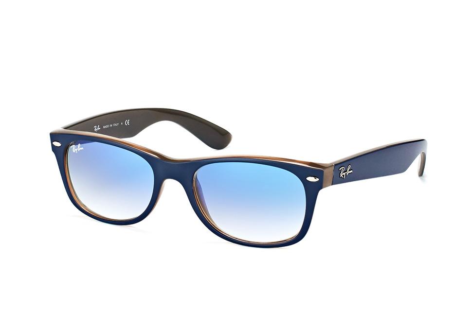 New Wayfarer RB 2132 6308/3F, Square Sonnenbrillen, Blau
