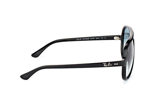 Ray-Ban Cats 5000 RB 4125 601/3F Perspektivenansicht