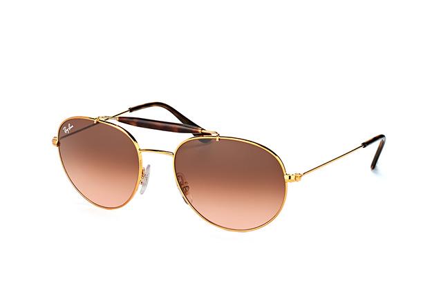 RAY BAN RAY-BAN Sonnenbrille » RB3540«, braun, 9001A5 - braun/ braun