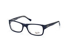 ray-ban-rx-5268-5739-rectangle-brillen-blau