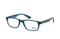 ray-ban-rx-7063-5719-rectangle-brillen-blau