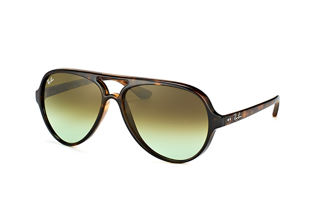 Ray-Ban Cats 5000 RB 4125 710/A6 perspective view
