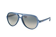 Ray-Ban Cats 5000 RB 4125 6303/71, Aviator Sonnenbrillen, Blau