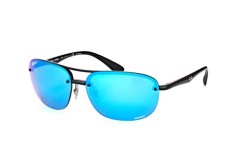ray ban pilotenbrille blau