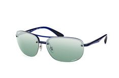 Ray-Ban RB 4275Ch 629/5L, Aviator Sonnenbrillen, Blau