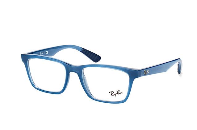 ray ban blau transparent
