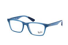 Ray-Ban RX 7025 8019, Square Brillen, Blau