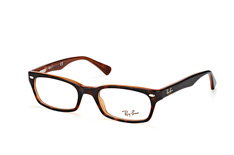 Ray-Ban RX 5150 5713, Narrow Brillen, Braun