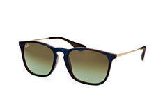 Ray-Ban Chris RB 4187 6315/e8, Square Sonnenbrillen, Braun