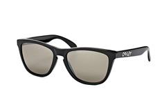 Oakley Frogskins OO 9013 C4, Square Sonnenbrillen, Schwarz