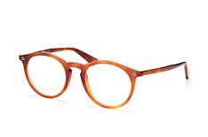 Gucci GG 0121O 003, Round Brillen, Braun