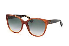 Gucci GG 0097S 003, Butterfly Sonnenbrillen, Braun