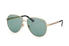 Gucci GG 0138S 001, Aviator Sonnenbrillen, Goldfarben