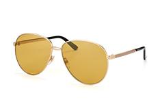 Gucci GG 0138S 002, Aviator Sonnenbrillen, Goldfarben
