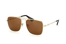 Gucci GG 0108S 001, Aviator Sonnenbrillen, Goldfarben