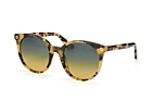 Gucci GG 0091S 001 Havana / Yellow / Grey perspective view thumbnail