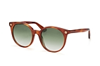 Gucci GG 0091S 001 Havana / Brown / Gradient green perspective view thumbnail
