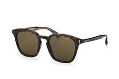 Gucci GG 0125S 002, Square Sonnenbrillen, Dunkelbraun