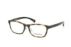 Emporio Armani EA 3113 5026, inkl. Gläser, Quadratische Brille, Damen - Preisvergleich