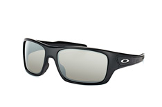 Oakley Turbine OO 9263, Rectangle Sonnenbrillen, Schwarz