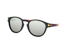 Oakley Latch OO 9265 26, Round Sonnenbrillen, Schwarz