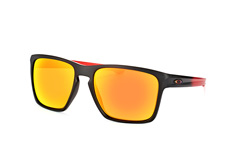 Oakley Sliver XL OO 9341 14, Square Sonnenbrillen, Schwarz