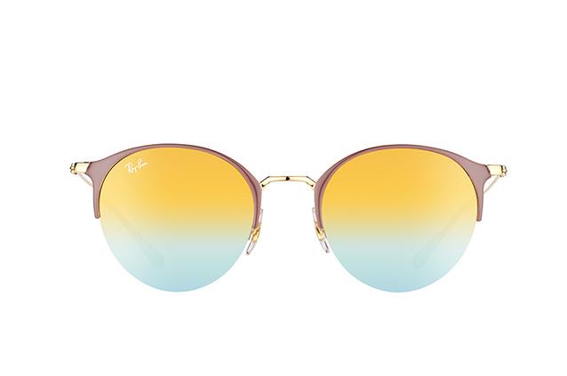 RAY BAN RAY-BAN Damen Sonnenbrille » RB3578«, goldfarben, 9011A7 - gold/silber
