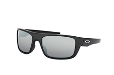 Oakley Drop Point OO 9367 08, Sporty Sonnenbrillen, Schwarz