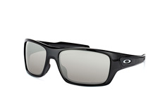 Oakley Turbine OO 9263 41, Rectangle Sonnenbrillen, Schwarz