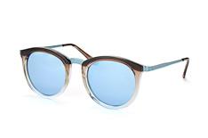 Le Specs No Smirking LSP 1702014, Round Sonnenbrillen, Braun