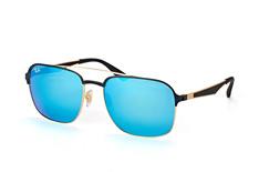 ray-ban-rb-3570-187-55-aviator-sonnenbrillen-goldfarben