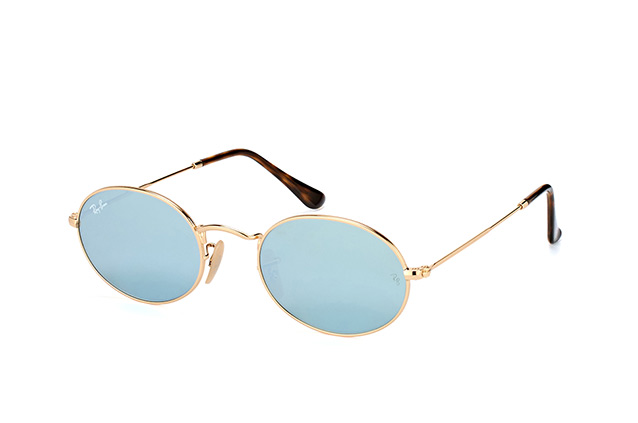 Ray-Ban Oval RB 3547N 001/30 large Perspektivenansicht