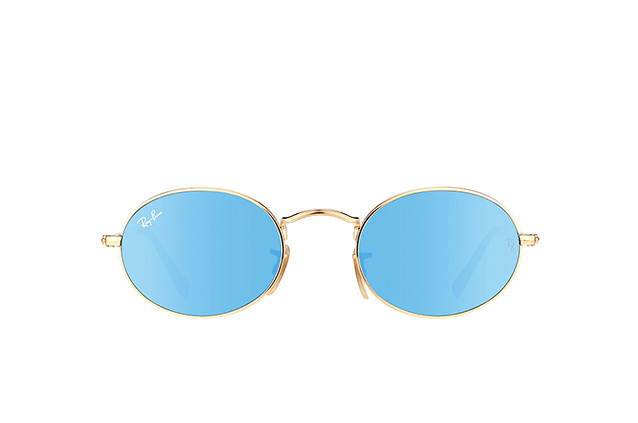 Ray-Ban Oval RB 3547N 001/9O small Perspektivenansicht
