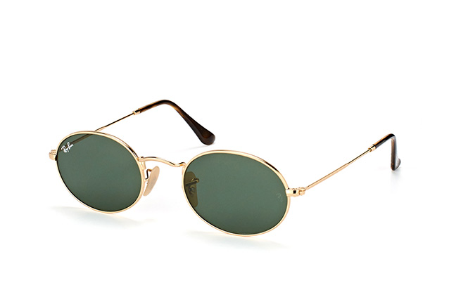 Ray-Ban Oval RB 3547N 001 large Perspektivenansicht