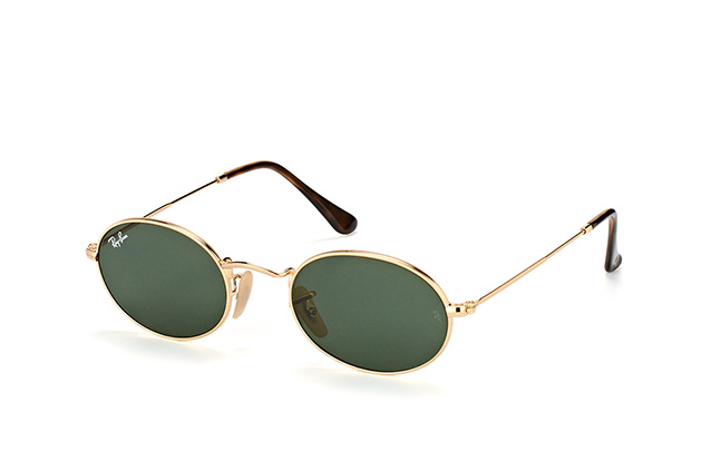 Ray-Ban Oval RB 3547N 001 small Perspektivenansicht