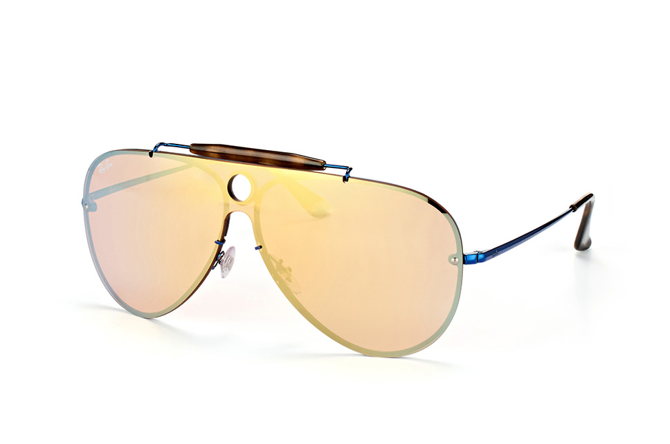 Blaze RB 3581-N 9038/7J, Singlelens Sonnenbrillen, Blau