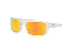 Oakley Drop Point OO 9367 05, Sporty Sonnenbrillen, Transparent