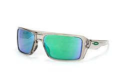 Oakley Double Edge OO 9380 03, Sporty Sonnenbrillen, Grau