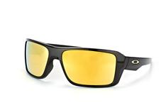 Oakley Double Edge OO 9380 02, Sporty Sonnenbrillen, Schwarz