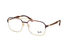 ray-ban-rx-6404-2917-aviator-brillen-goldfarben