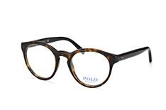Polo Ralph Lauren PH 2175 5003, Round Brillen, Dunkelbraun