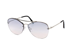 Tom Ford Margret 02 FT 0566/s 18C, Aviator Sonnenbrillen, Silber