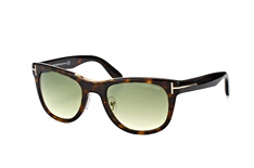 Tom Ford Jack FT 0045 / S 52P, Square Sonnenbrillen, Havana