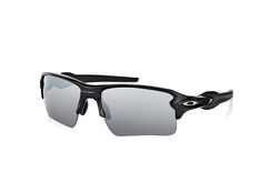 Oakley Flak OO 9188 72, Rectangle Sonnenbrillen, Schwarz