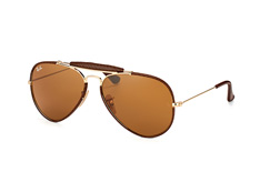 Ray-Ban Aviator Craft RB 3422Q 9041 L, Aviator Sonnenbrillen, Braun
