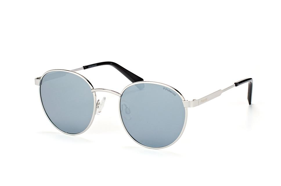 PLD 2053/s 010 EX, Round Sonnenbrillen, Silber